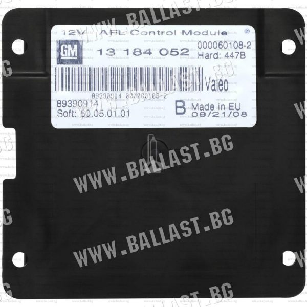 Valeo AFL AHL Control Module Headlight Ballast for cornering light OPEL GM 13184052