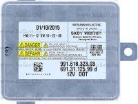 Mitsubishi-Electric Xenon 991.618.323.03 W003T21871 D3S Xenon Headlight Ballast