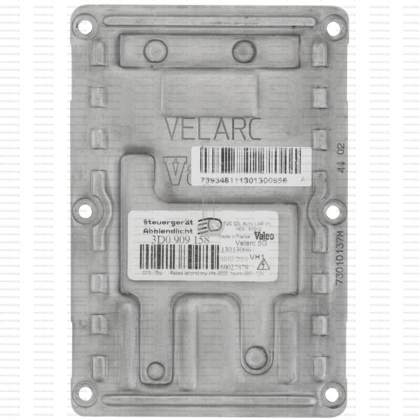 Баласт модул Valeo 12 PIN LAD5G 3D0909158 Xenon – Рециклиран