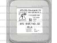 HELLA 5DC 009 060-30 AFS-GDL Headlight Ballast Control Unit 12V