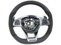 Steering wheel 9E38 Black AMG A1664601618 CLA / ML / GLE / CLS