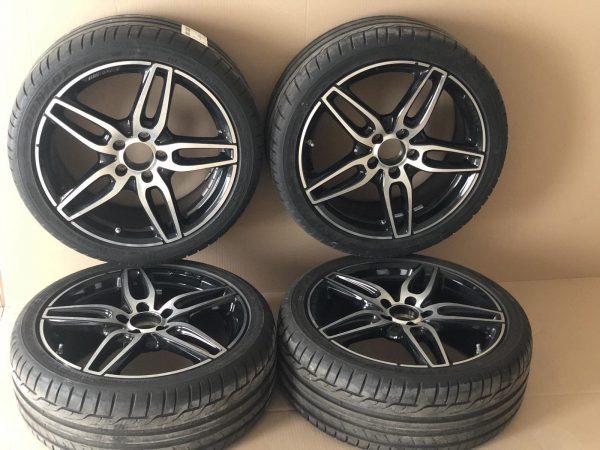 AMG Джанти комплект с гуми за моделите W117,W176,W246