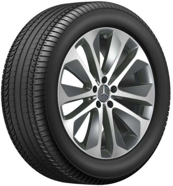 Alloy wheel A1674010700 7X21