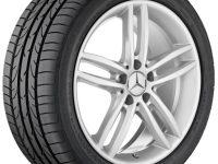 Alloy wheel A1724011202 7X45