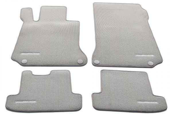 AMG Стелки комплект за модела E Coupe W207- 7L88 Alpacagrau Velours