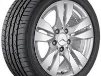 Alloy wheel A2124010202