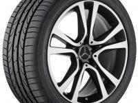 Alloy wheel A2124014802 7X36