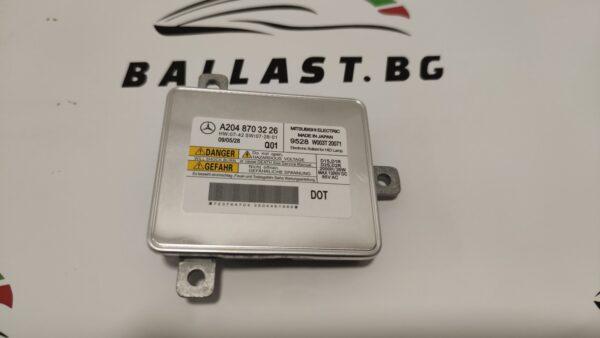 Баласт модул D1S Mitsubishi-Electric A2048703226 W003T18871 Mercedes-Benz GLK X204 2009-2012